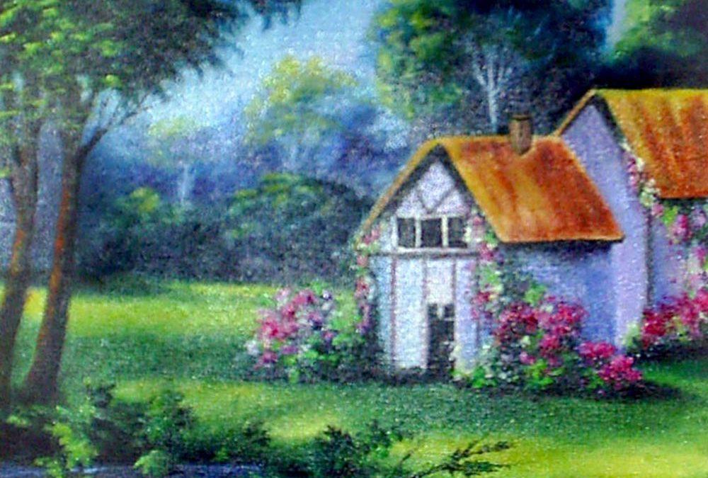 نقاشی منظره ۱