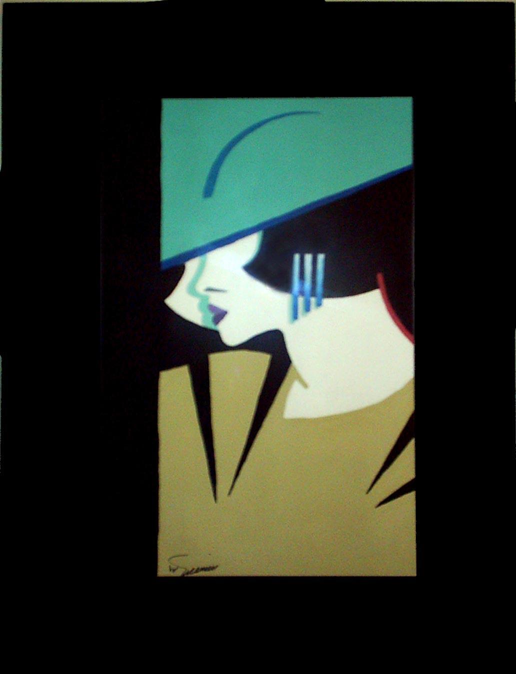 آثار نقاشی گواش روی کاغذ - شماره 2