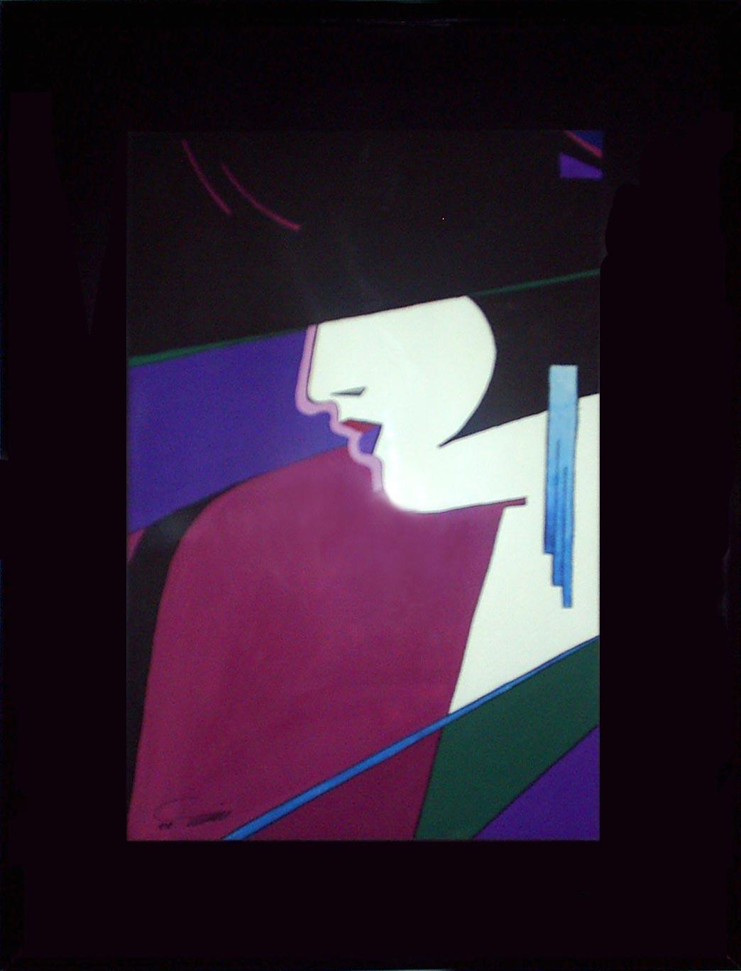 آثار نقاشی گواش روی کاغذ - 3