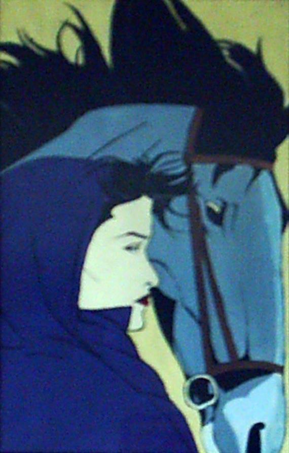 آثار نقاشی گواش روی کاغذ - شماره 4