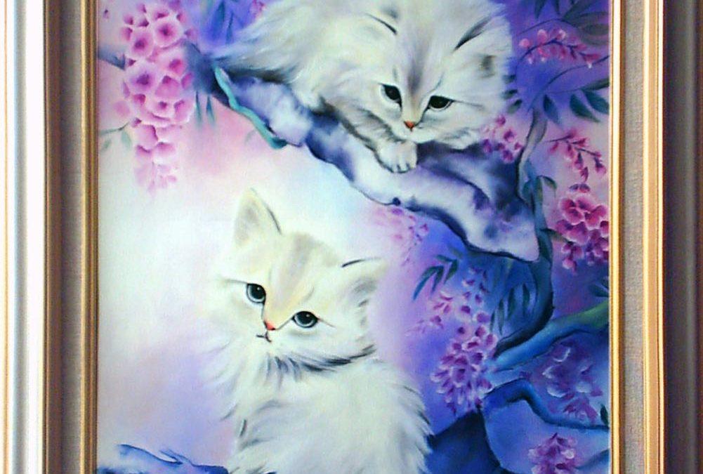 سایر آثار نقاشی – گربهها