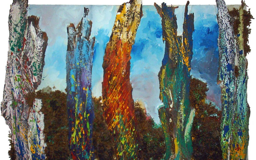 سایر آثار نقاشی – درختان