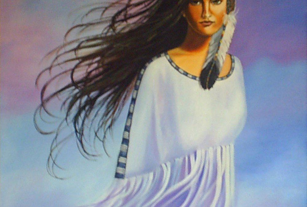 پرتره و فیگور – ایستاده در باد
