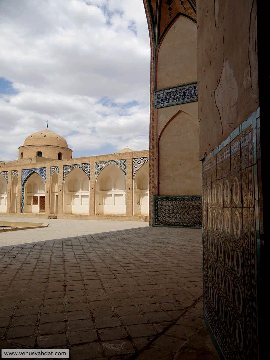 عکاسی معماری - مسجد آقابزرگ کاشان
