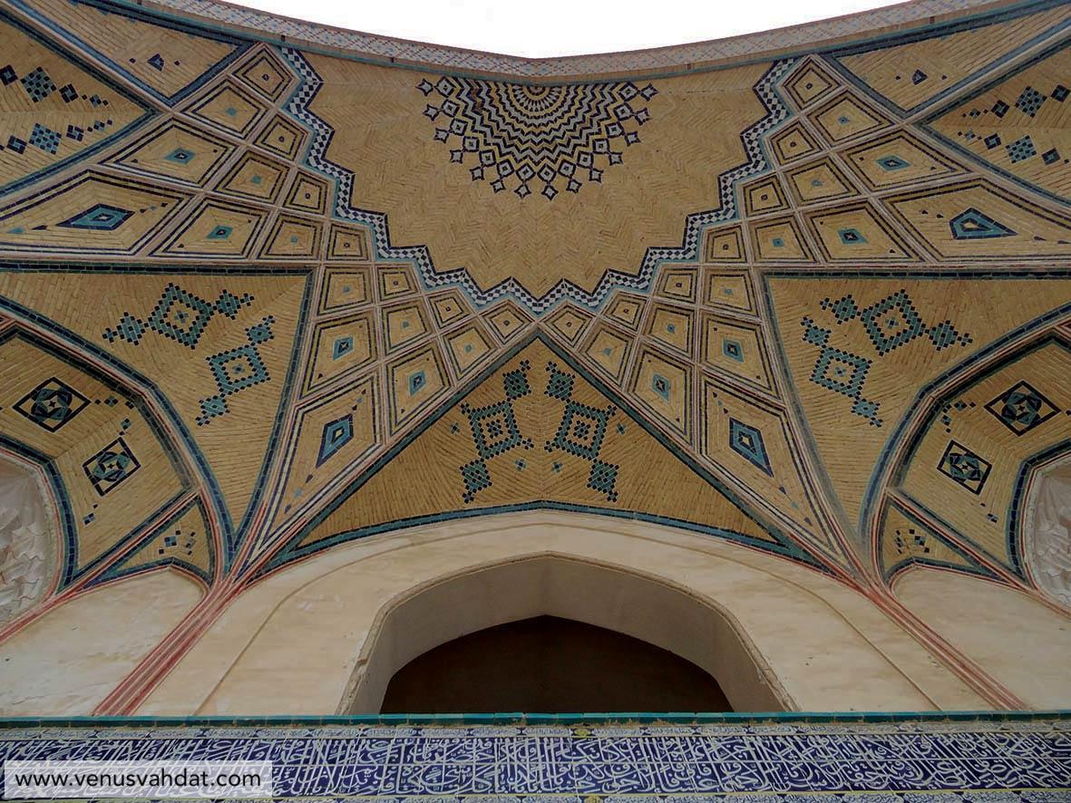عکاسی معماری - مسجد آقا بزرگ -کاشان