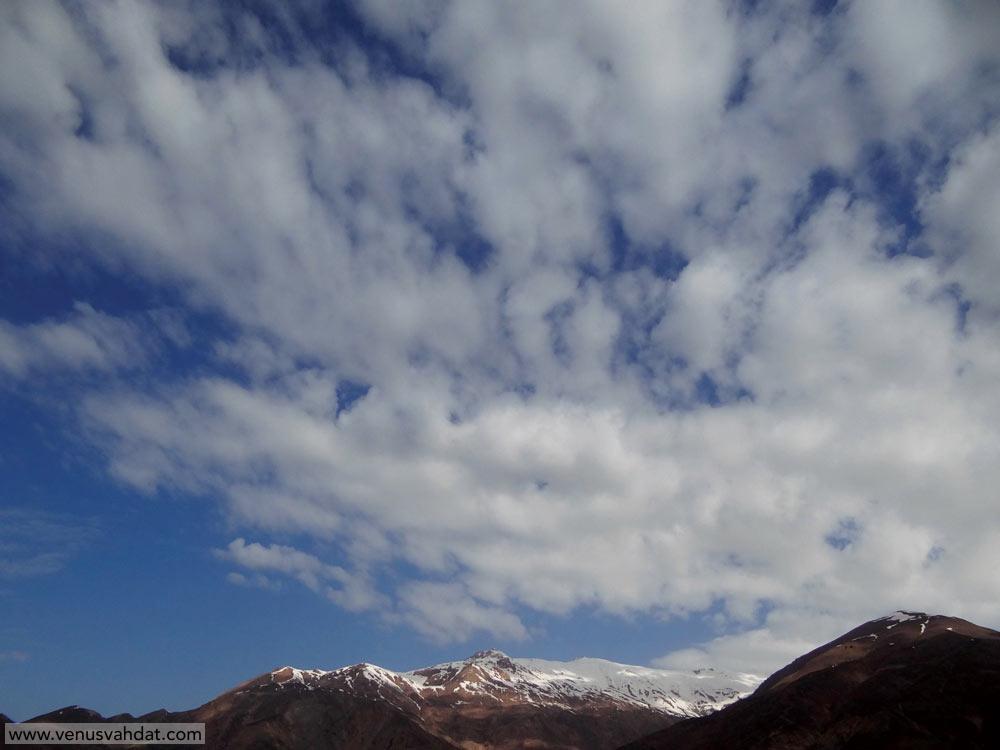 عکاسی طبیعت ایران- آسمان سمنان- شماره 1