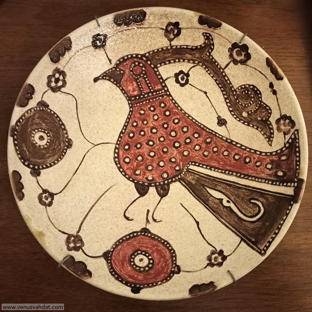 صنایع دستی-نقاشی روی سفال